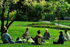 A_group_meditation_session_in_a_park_in_a_yoga_asana (2)